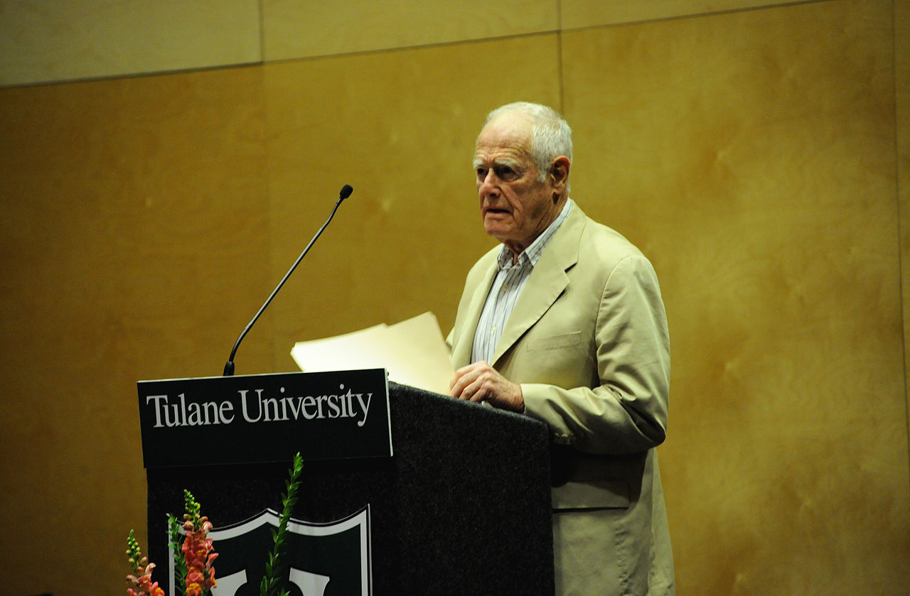 James Salter in 2010