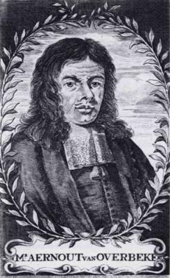 Aernout van Overbeke. Bron: Dekker, Roodenburg en Van Rees, Anecdota sive historiae jocosae (Amsterdam 1991)