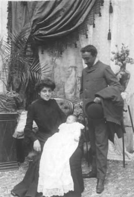 Niceto Alcalá Zamora, Purificación Castillo en hun eerste kind