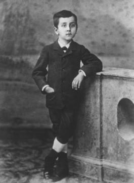 Niceto Alcalá-Zamora als kind
