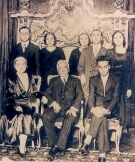 Met de familie, december 1931