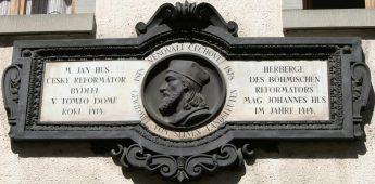 Jan Hus, sterven als een ketter