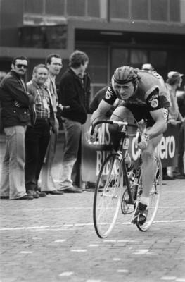 Jan Raas tijdens de proloog van 1978 (cc - Nationaal Archief)