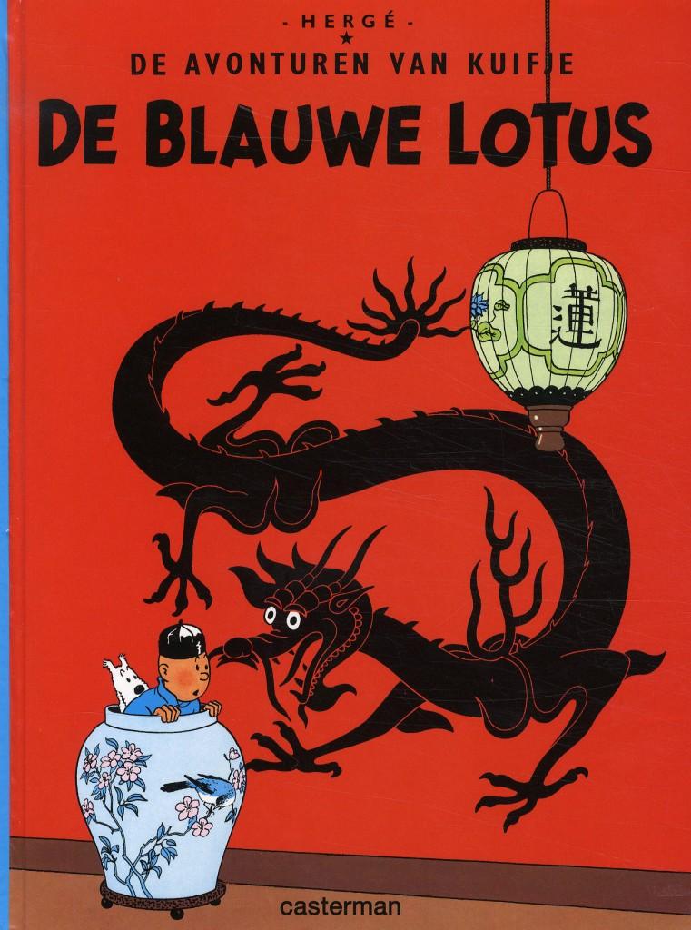 Kuifje-album 'De blauwe lotus'