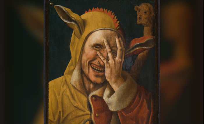 Lachende zot (Jacob Cornelisz. van Oostsanen) - ca. 1500