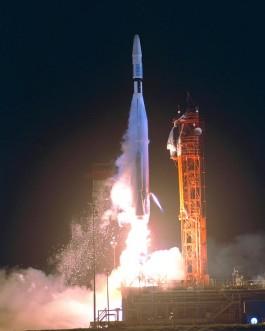 Lancering van de Mariner 1. Bron: Wikimedia