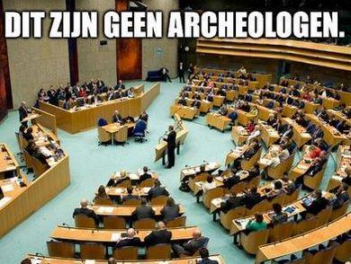Dit zijn geen archeologen