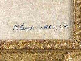 Signatuur Claude Monet
