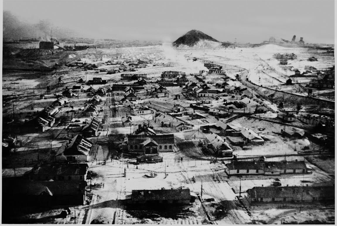 Vorkuta een van de kampen van de Goelag - Collectie Thomas Kizny