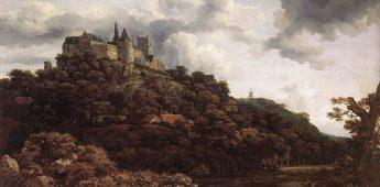 Kasteel Bentheim door de ogen van Jacob van Ruisdael