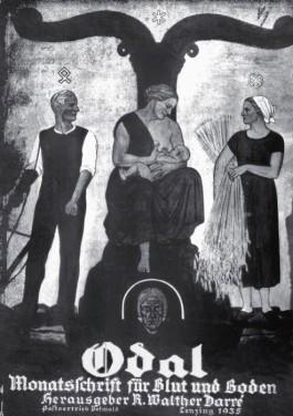 Odal: Monatschrift für Blut und Boden. Het blad van de jeugdbeweging Artamanen. Bron: http://hyperb0rean.tumblr.com/