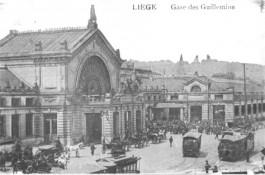 Het oude Luik Guillemins, 1905