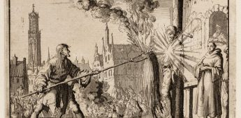 De executie van wederdoper Hendrik Eemkens (1562)