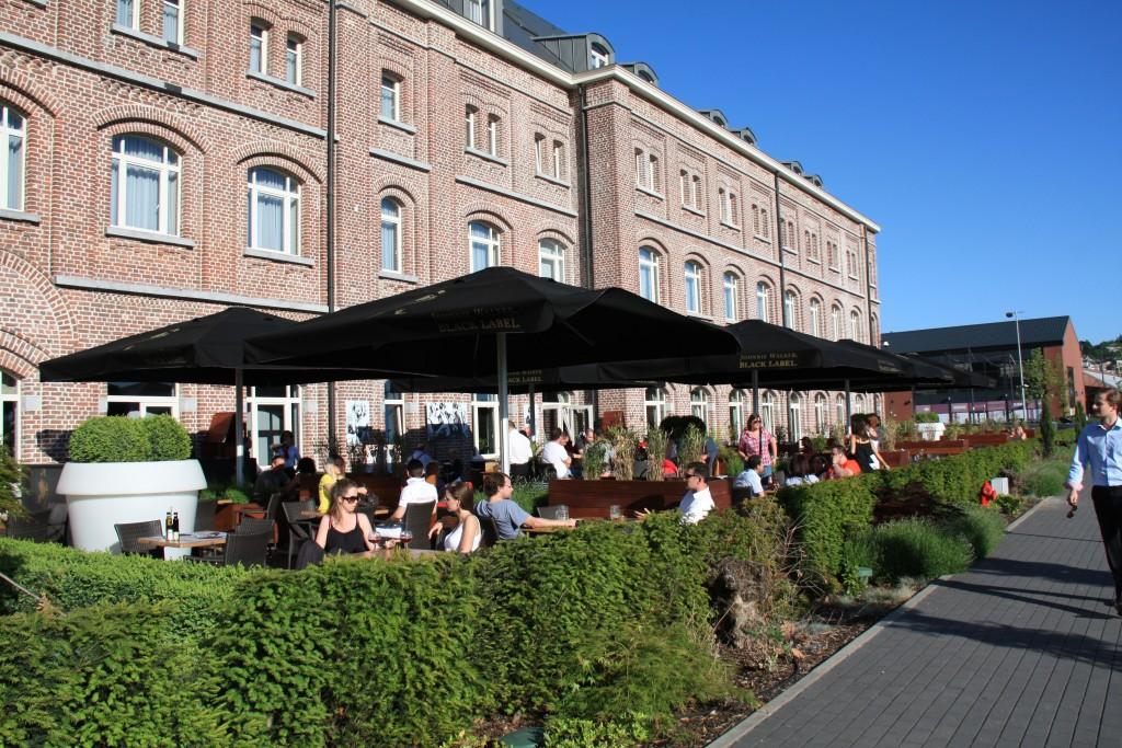 Hotel Verviers, terras