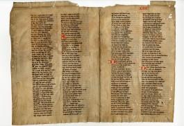 Jacob van Maerlant, Rijmbijbelfragmenten, ca. 1325 (KB)