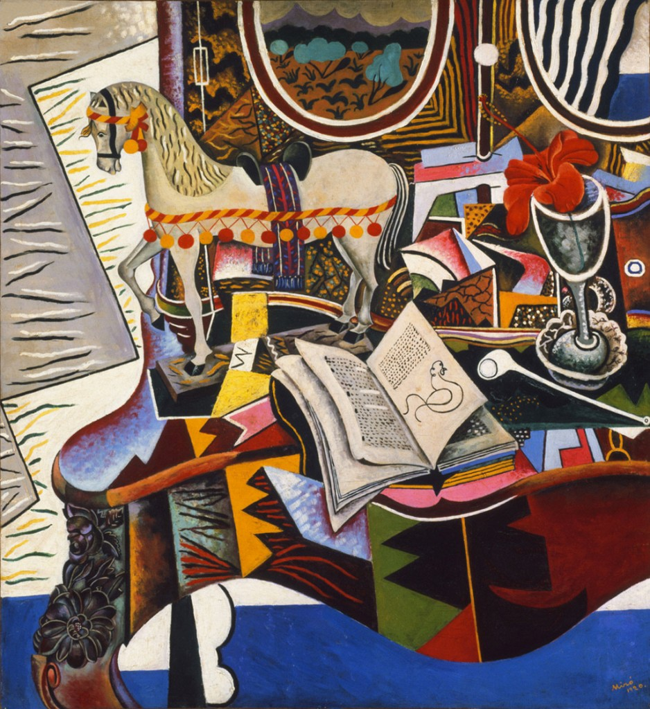 Joan Miró, Horse, Pipe and Red Flower, 1920 (Philadelphia Museum of Art)