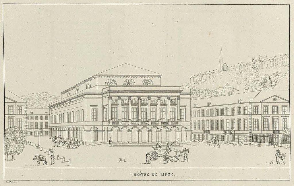 Opera-gebouw van Luik