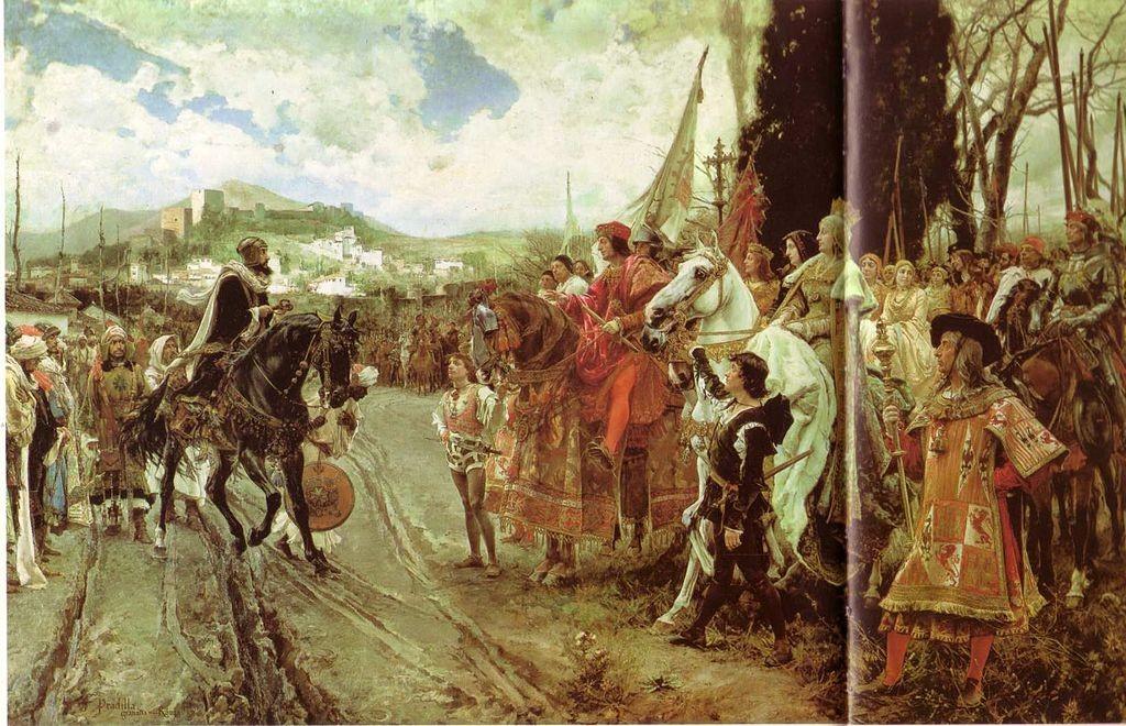 Val van Granada - Val van het Moorse Rijk in 1492