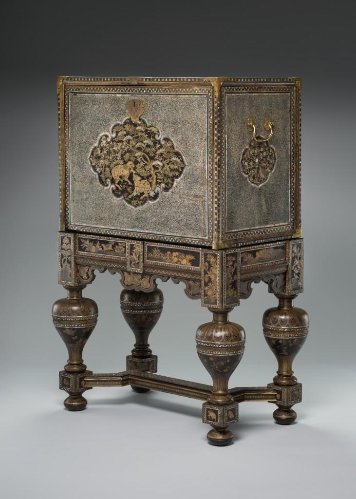 Kabinet, 17de eeuw. Peabody Essex Museum, Salem, VS
