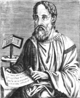 Bisschop Eusebius van Caesarea. Bron: Wikipedia