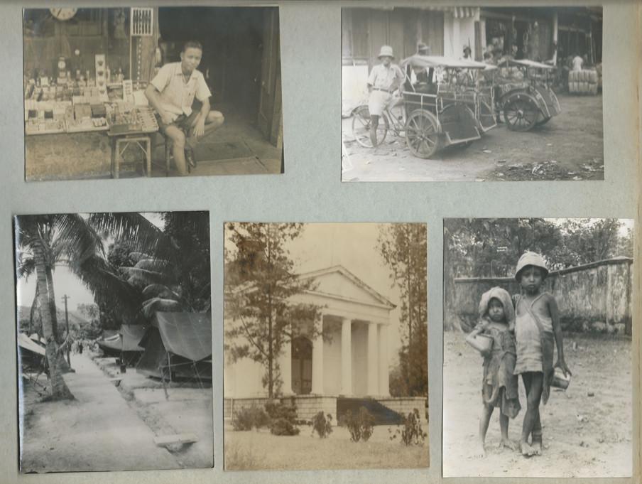 Een pagina uit het fotoalbum van Evert-Jan Nijboer
