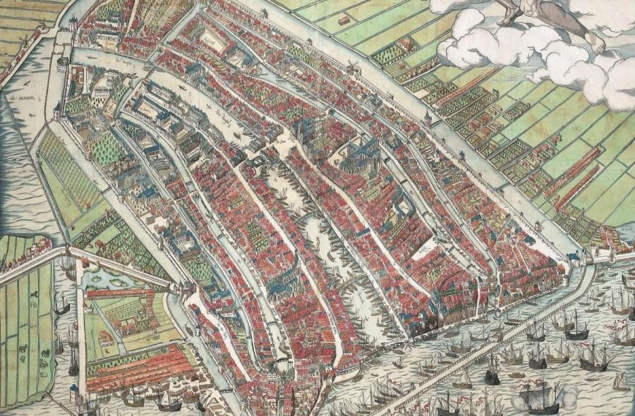 Amsterdam in 1544