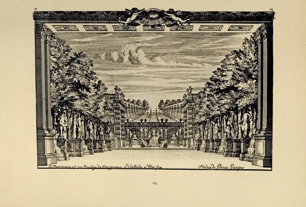 Daniel Marot, decorontwerp Palais du fleuve sangar