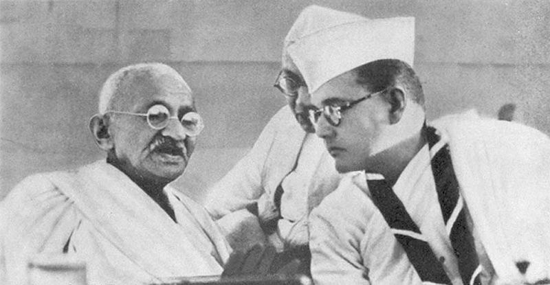 Gandhi en Bose