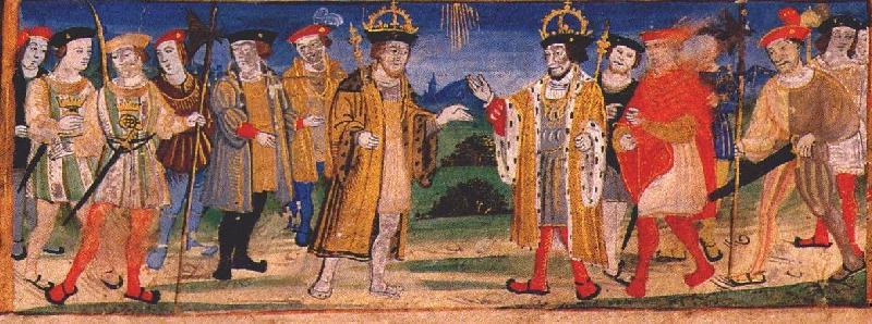 Hendrik VIII en Frans I
