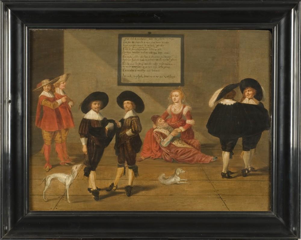 Het zeventiende-eeuws paneel van Christiaen Coeuershof