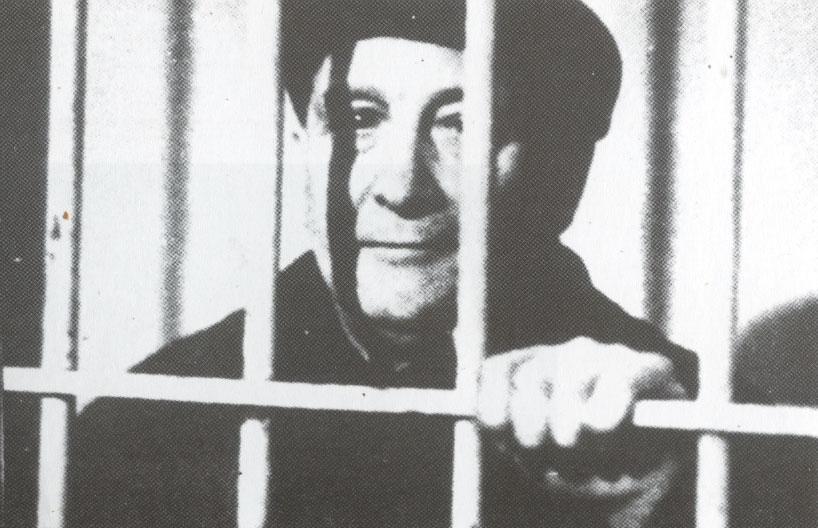 Largo Caballero in gevangenis 1934