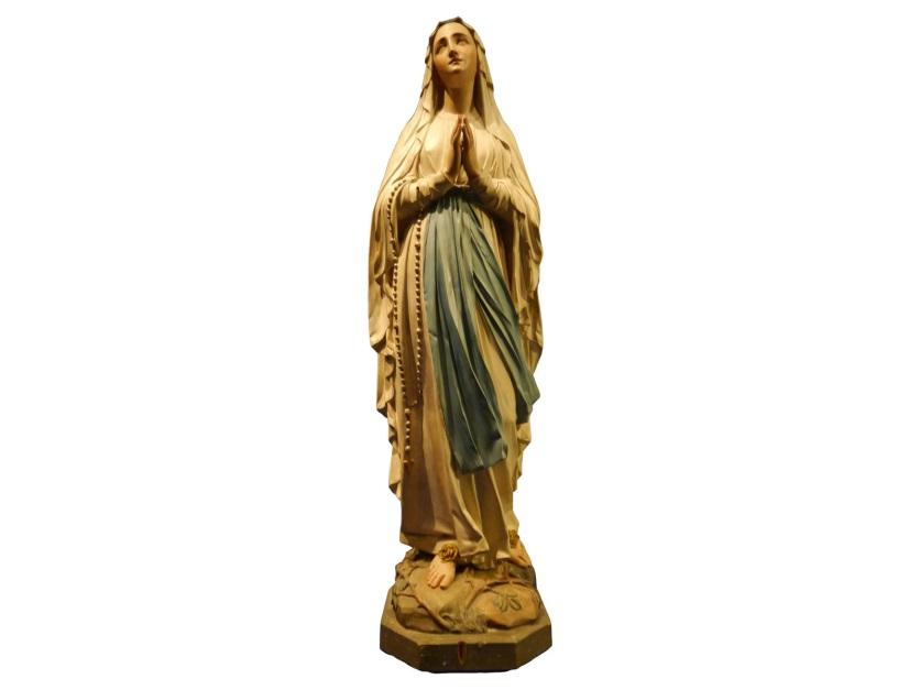 Maria (Lourdes), na 1858, Heiligenbeeldenmuseum, Kranenburg