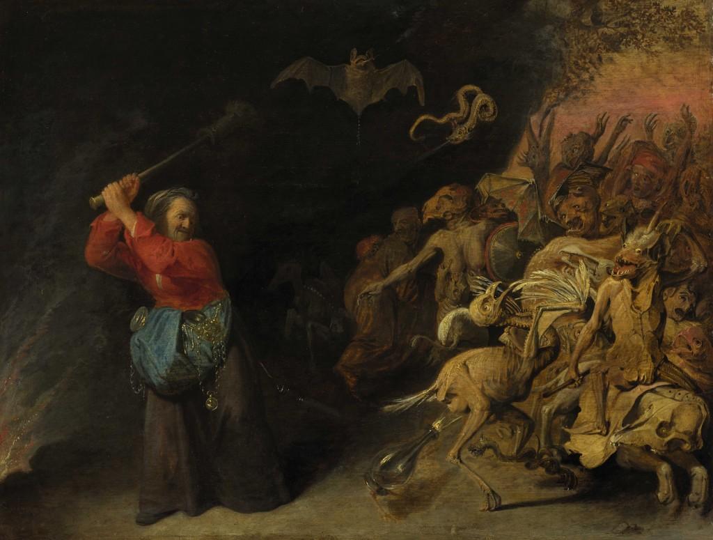 Dulle Griet, David Ryckaert III, ca. 1655, Kunsthistorisches Museum, Wenen
