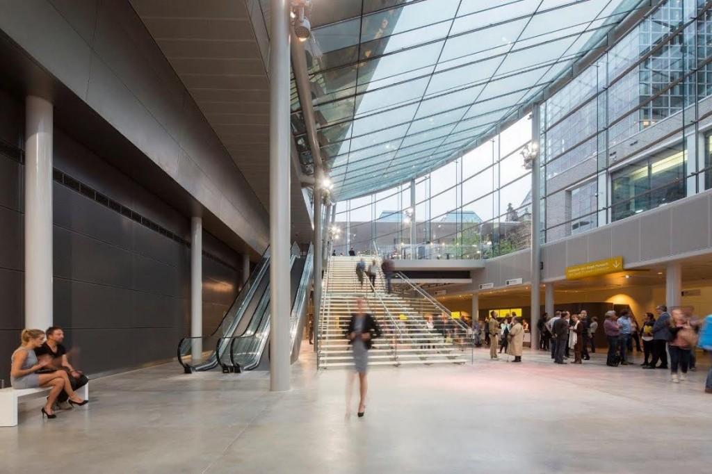 Nieuwe entree van het Van Gogh Museum
