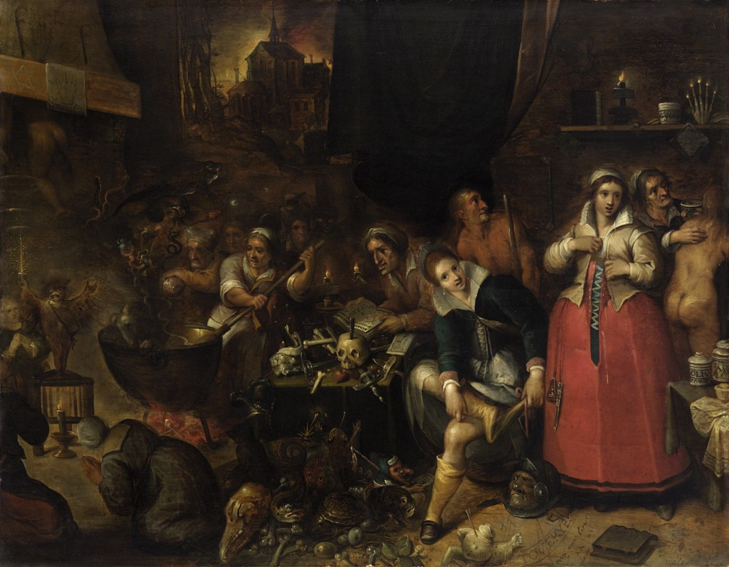 Heksenkeuken, Frans Francken II, Kunsthistorisches Museum, Wenen