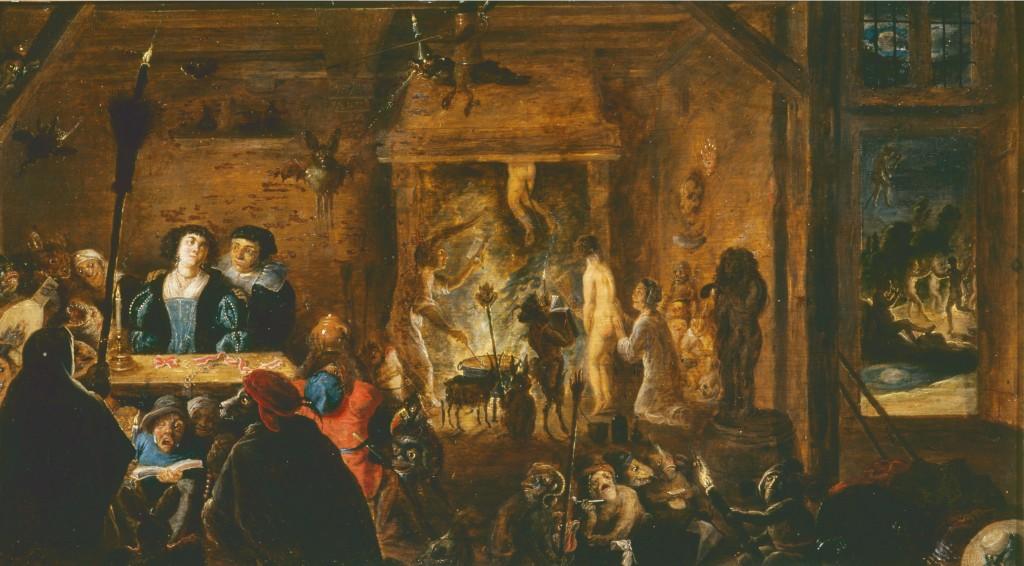 Heksensabbat, David Teniers II, 1633, Museé de la Chartreuse, Douai