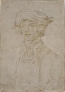 Albrecht Dürer. Portret van Lucas van Leyden. Juni 1521.