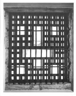 Raam van het klooster in Beja, van waaruit Mariana Chamilly begluurde