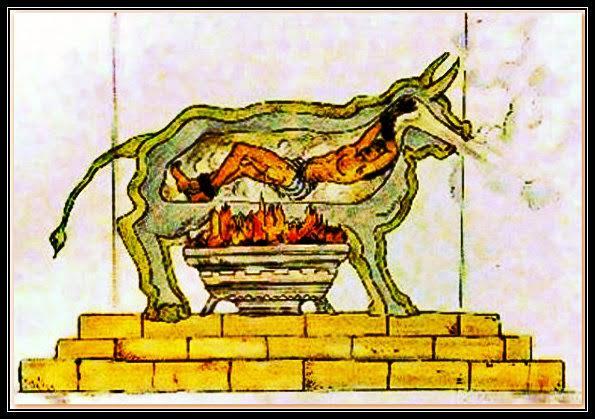 Doorsnede van de Siciliaanse Stier