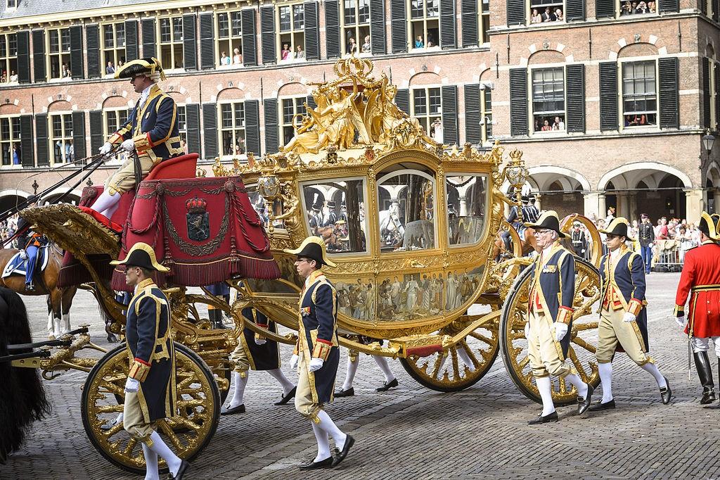 Gouden Koets op Prinsjesdag