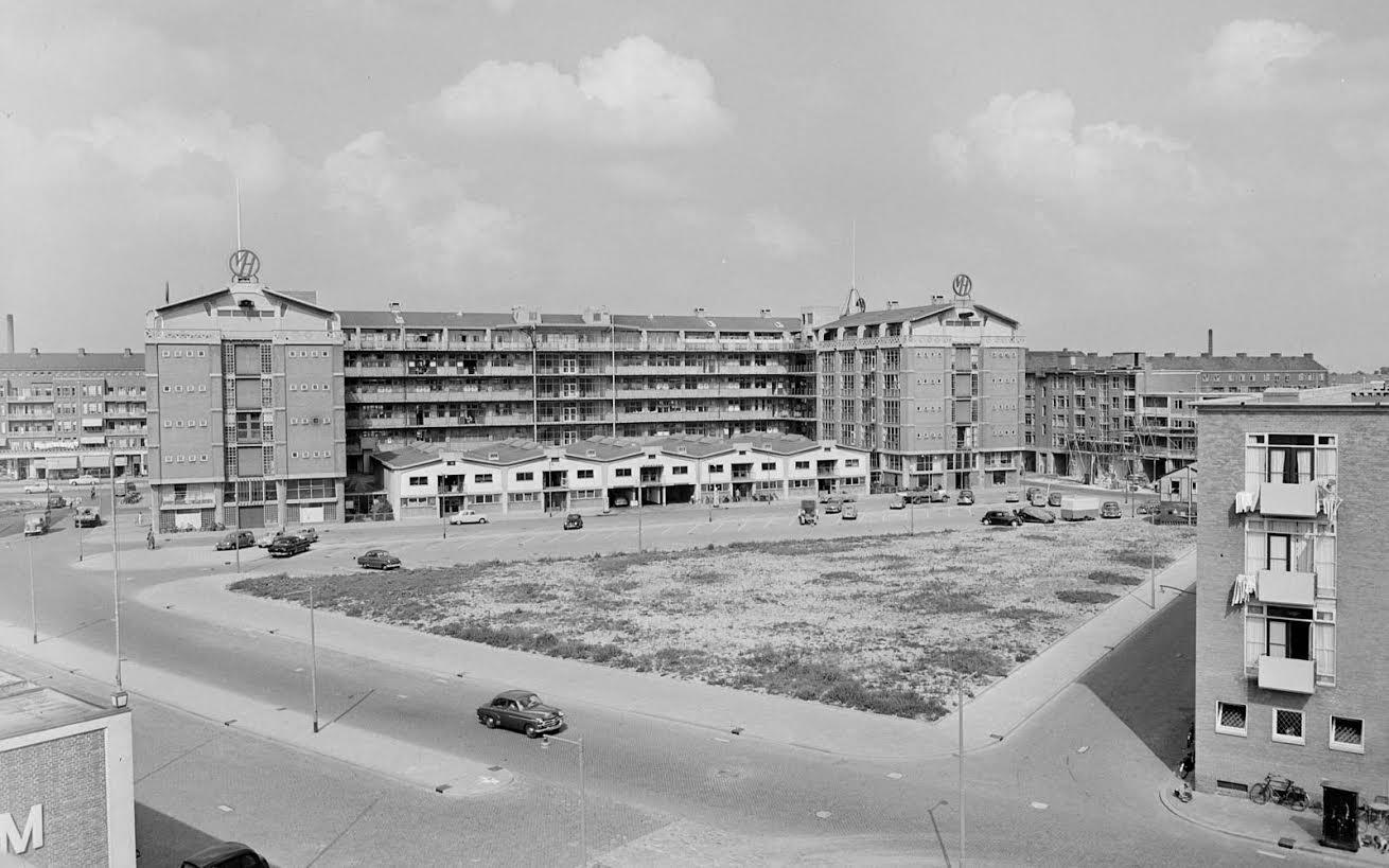 Het Industriegebouw in 1951