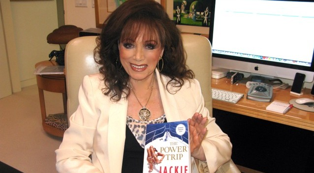 Jackie Collins in 2013 - cc