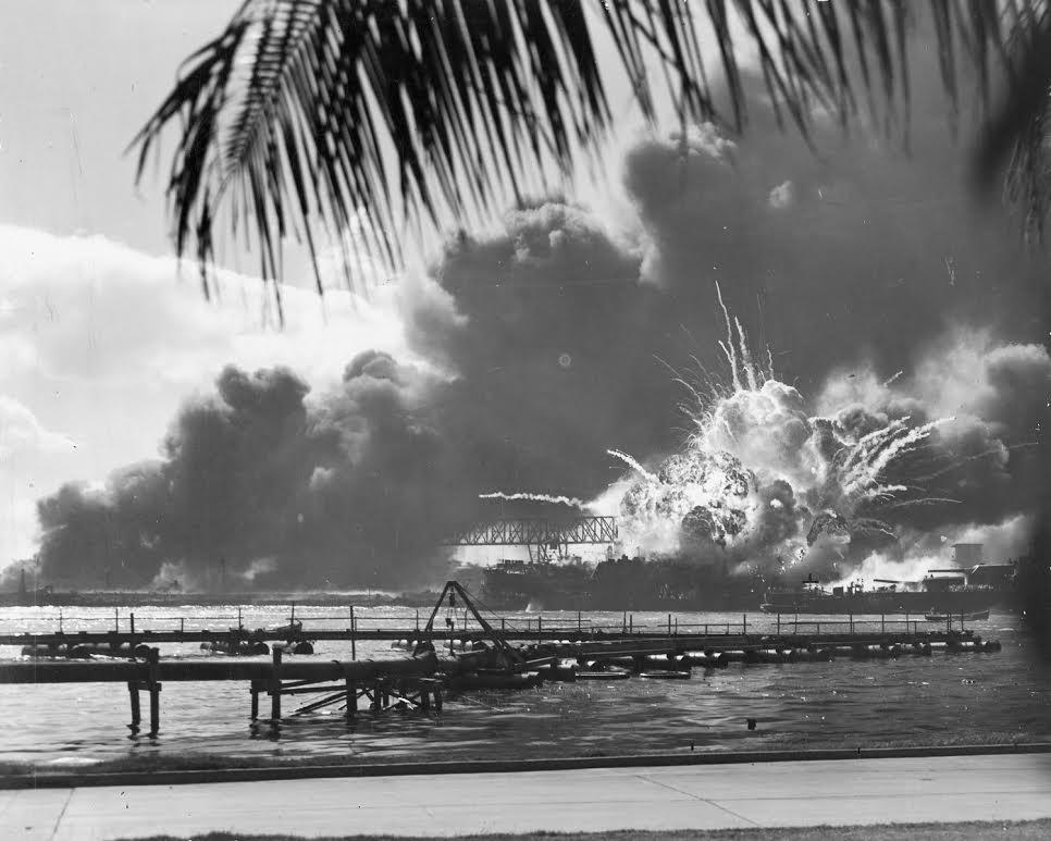 Japanse aanval op Pearl Harbour. (wiki)