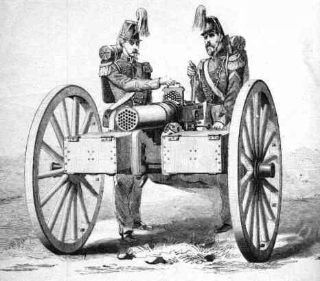 Montigny mitrailleuse.