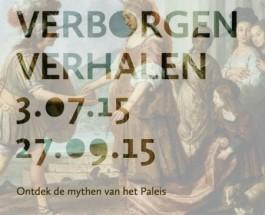 Promotie voor de presentatie 'Verborgen Verhalen' van het Koninklijk Paleis