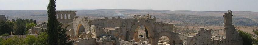 Qalat Semaan in Syrië - cc