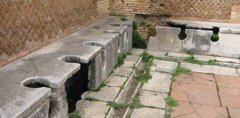 De geschiedenis van de wc