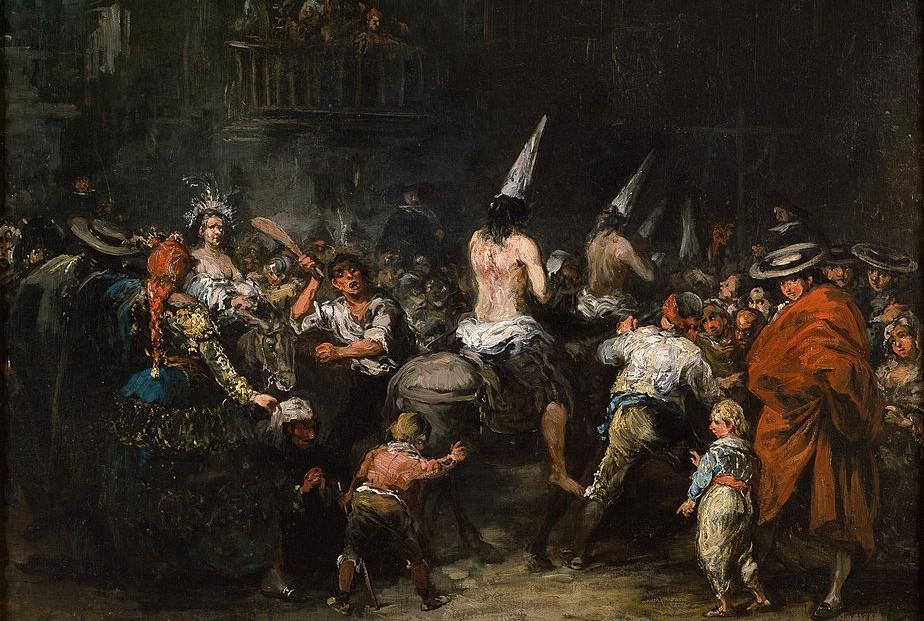 Veroordeelden door de Inquisitie - Eugenio Lucas Velázquez