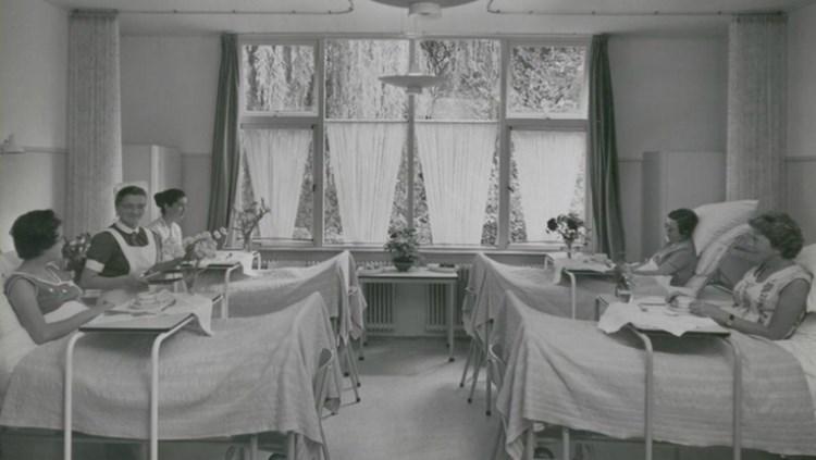 Ziekenzaal bij het Diaconessenhuis (Pinterest - Máxima Medisch Centrum)