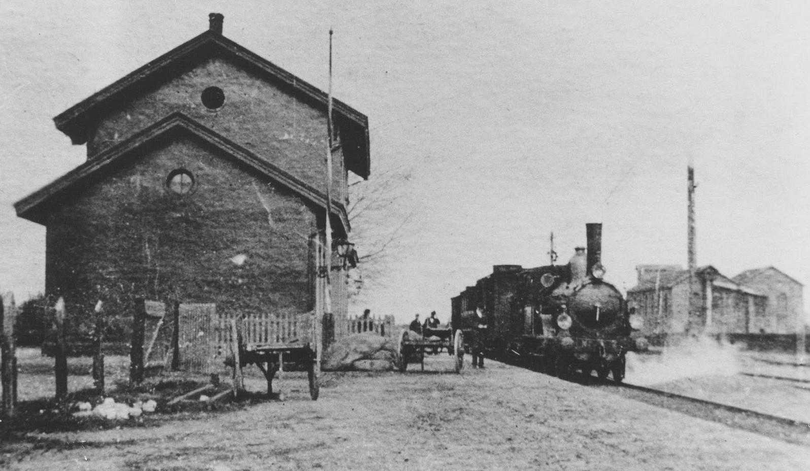 Prachtig stationnetje in Uden, lijn Boxtel-Wesel